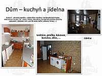 Kuchyň a přípravna jídla - chalupa k pronájmu Střížovice
