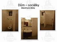 Sociálky v přízemí se sprchou - ženy - Střížovice