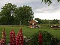 Zahrada s prostorem pro děti. - chalupa k pronájmu Střížovice