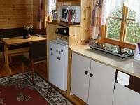SRUB kuchyňka - pronájem chatek Kyje