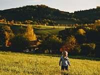Kouzelný podzim na chalupě - louka nad chalupou - Svojek