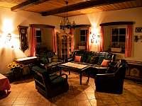 Obývací pokoj - chalupa ubytování Svojek