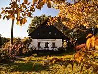 Podzim - pronájem chalupy Svojek