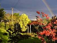 Velká oplocená zahrada - chalupa k pronajmutí Svojek