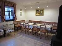Společenská místnost-jídelna, přízemí