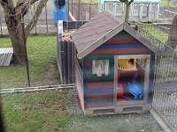 zahrádka s domečkem pro děti