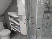 Sprchový kout - apartmán k pronájmu Jičín
