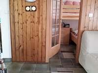 Obývací pokoj - chata k pronajmutí Staré Splavy