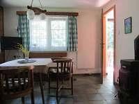 Obývací pokoj - pronájem chaty Staré Splavy