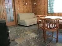 Obývací pokoj - chata ubytování Staré Splavy