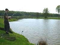 rybník - chata ubytování Dřevěnice