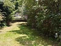 část zahrady - Komárov