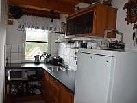 Kuchyňský kout - chata k pronajmutí Jičín - Dvorce
