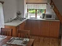kuchyňský kout - chata ubytování Březka