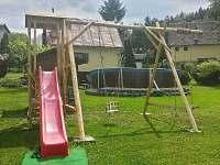 pro děti - chata ubytování Březka