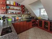Kuchyňský kout - pronájem apartmánu Jičín