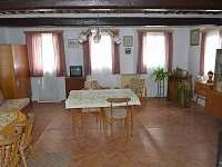 obývací pokoj, s možností 4 lůžek