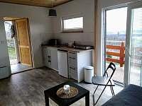 Kuchyňský kout - chata ubytování Podhorní Újezd a Vojice