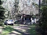 Chata celkovy pohled - ubytování Staré Splavy