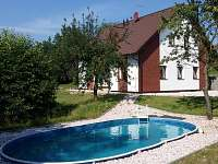 Apartmán na horách - dovolená  Komárovský rybník rekreace Žďár u Mnichova Hradiště