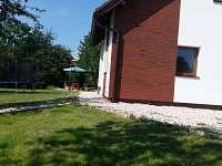 Posezení - chata ubytování Žďár u Mnichova Hradiště