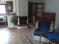 obývací pokoj - chalupa ubytování Nadslav