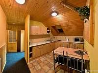 apartman č.1 - kuchyň - ubytování Dobšín