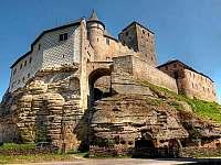 Hrad Kost - chata k pronajmutí Branžež