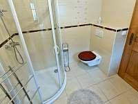 Koupelna Selský apartmán - chalupa k pronajmutí Vyskeř
