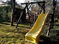 Klouzačka, houpačka, lano - vila k pronájmu Lázně Bělohrad