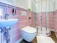 koupelna Pivoňka - vila ubytování Lázně Bělohrad