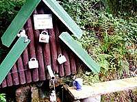 Studánka s pitnou vodou - Lázně Bělohrad