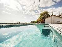 bazén se slanou vodou, protiproud - Sychrov - Vrchovina