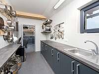 vybavení kuchyně vč. profi výčepu - pronájem chalupy Sychrov - Vrchovina