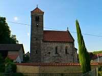 Románský kostel v Mohelnici