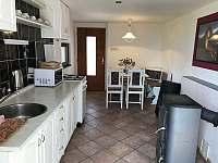 Velký domek - kuchyň - pronájem chalupy Dětenice