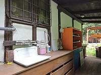 chatička Spálov - letní kuchyňka - ubytování Spálov