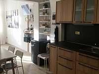 Kuchyně - apartmán ubytování Jičín