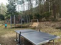Ping-pong stůl, trampolína, dětské hřiště - Skokovy