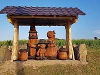 Uvítání do kempu :-) - chatky ubytování Drštěkryje