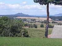 Výhled z kempu - pronájem chatek Drštěkryje
