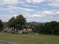 Výhled z kempu - chatky k pronajmutí Drštěkryje