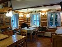 Chata - obývací prostor