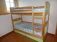 Ložnice v patře (4 lůžka)