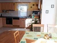 Kuchyň - rekreační dům ubytování Březina
