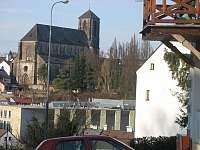 Výhled na Mariánský novogotický chrám - ubytování Turnov