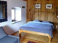 Ložnice 1 - pronájem chalupy Všeň - Mokrý
