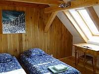 Ložnice 3 - pronájem chalupy Všeň - Mokrý