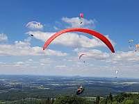 Kozákov - Paragliding - Chuchelna