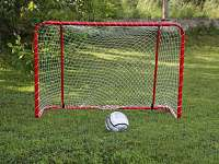 Zelená je tráva...a ten míč kulatý...:)
